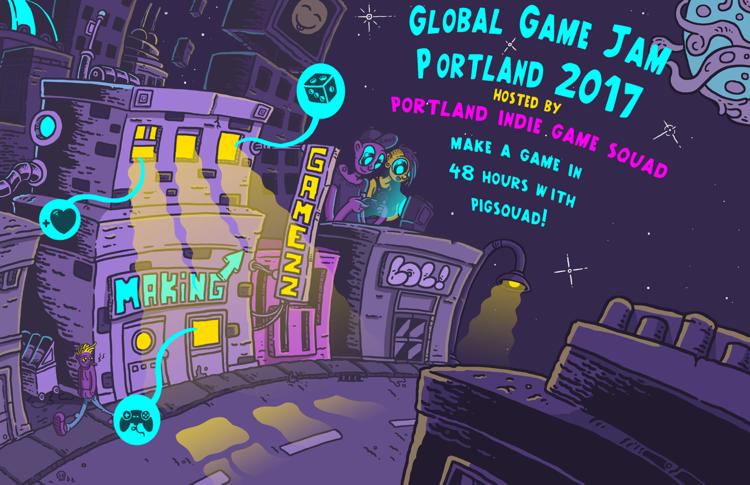 Global Game Jam 2017 Portland, Cascade ACM SIGGRAPH